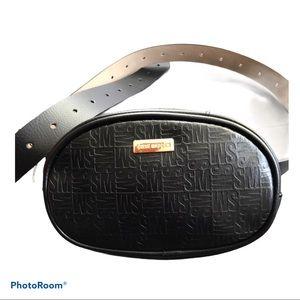 Steve Madden Black Fanny Pack Belt Bag